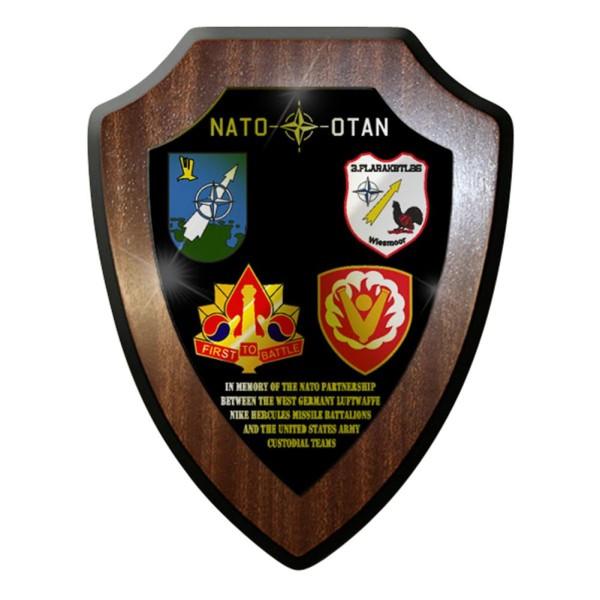 Wappenschild / Wandschild -Nato Partnership Missile Battalions Flarak #7678