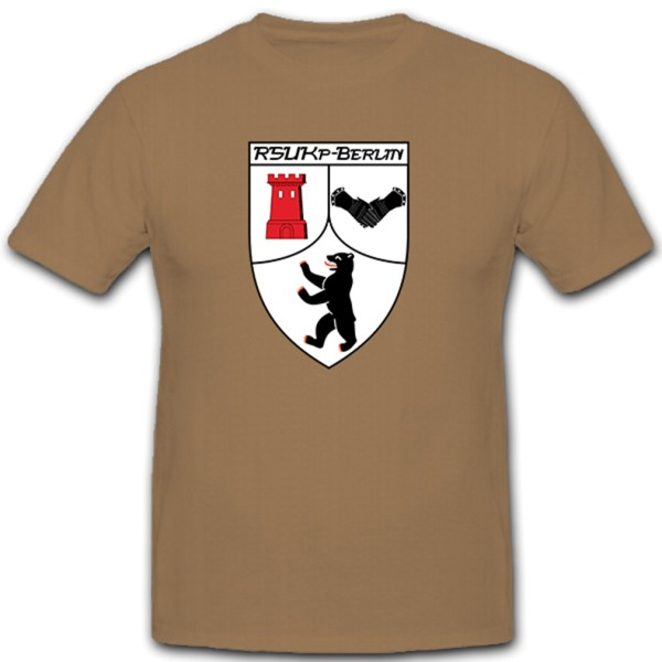 RSU Kp Berlin Regional Security and Support Forces - T-shirt # 10607