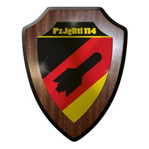 Wappenschild - Panzerjägerbataillon PzJgBtl 114 Leopard Bundeswehr #9321