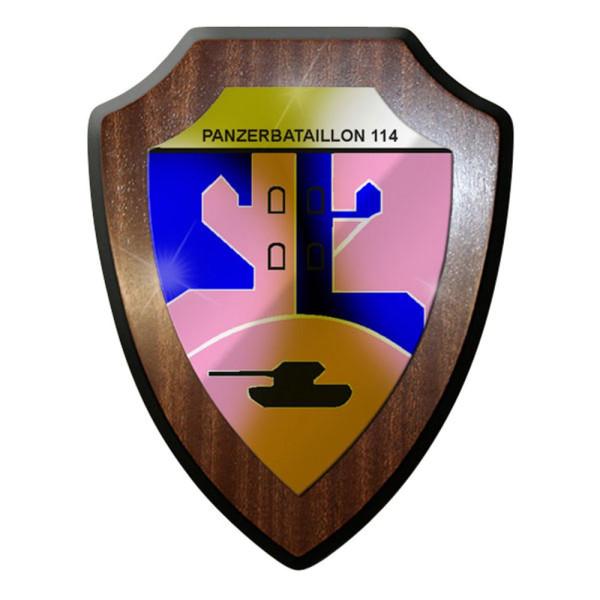 Wappenschild Panzerbataillon Panzer Bataillon PzBtl 114 Bw Soldaten #8361