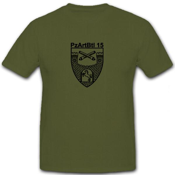 Panzerartilleriebataillon 15 Stadtoldendorf Bundeswehr Emblem - T Shirt #5827