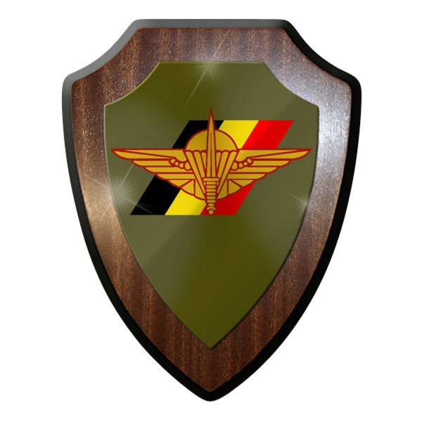 Wappenschild - Belgische Fallschirmjäger Brigade Para Commando #10060