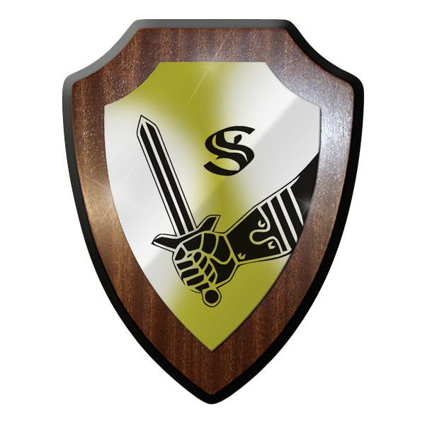 Wappenschild / Wandschild / Wappen - Panzertruppenschule Munster #8803