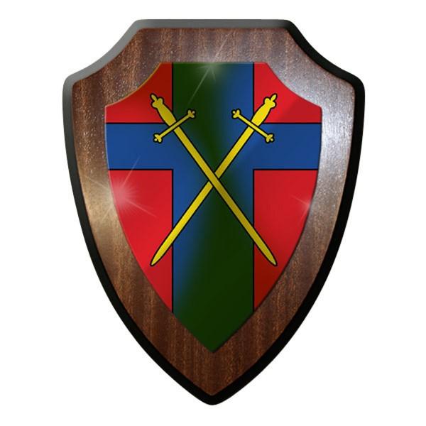 Wappenschild / Wandschild / Wappen - British Army Of the Rhine - BAOR #9092