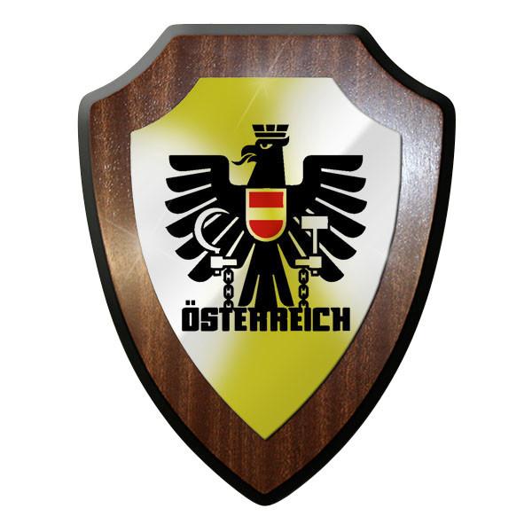 Wappenschild - Österreich Austria Flagge Fahne Adler Ketten #10095