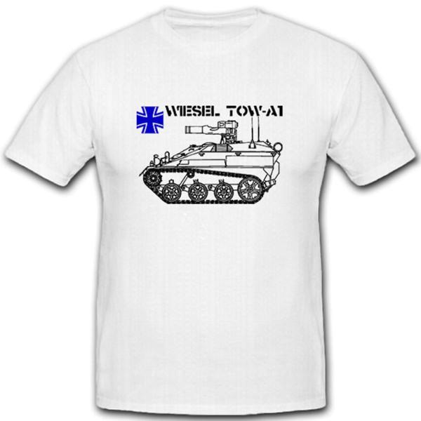 Wiesel TOW-A1 Bundeswehr Militär Panzer Ketten Fahrzeug- T Shirt #7976