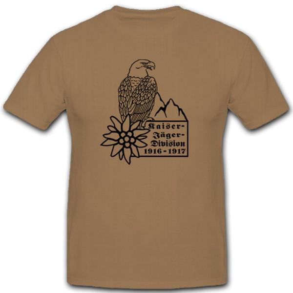 Kaiserjäger Division Adler Edelweiss Berge Infanterie Alpenjäger T Shirt #10414