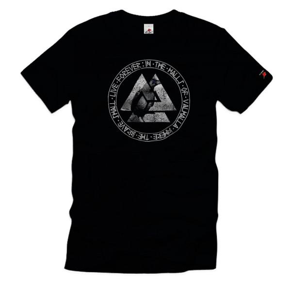 Valknut Odin Valhalla Wikinger Halle der Gefallenen Götter Odin T-Shirt #36412