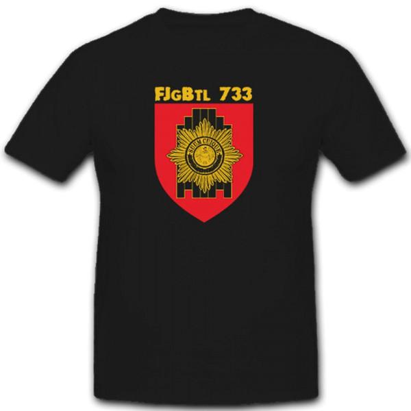 FJgBtl 733 Feldjägerbataillon Feldjäger Bundeswehr BW Wappen - T Shirt #7450