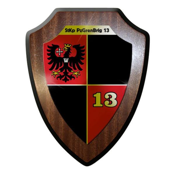 Wappenschild - StKp PzGrenBrig 13 Stabskompanie Brigade Grenadier #12635