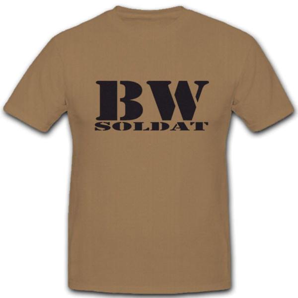 BW Soldat Bundeswehr BW Gefreiter Offizier Feldwebel Elite - T Shirt #5222