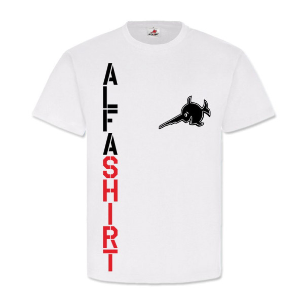Alfashirt Fan Logo Truppe Team - T Shirt #3601