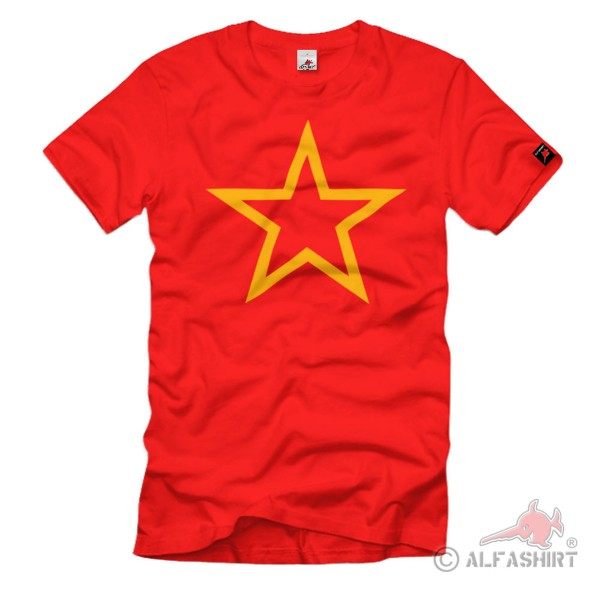 Soviet Star Russia Red Army Star Russia T-Shirt # 108