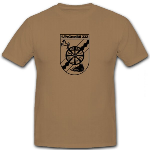 1 PzGrenBtl 332- T Shirt #6571