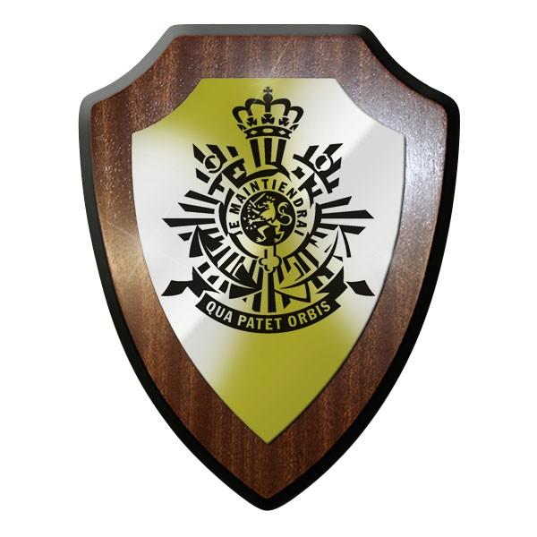 Wappenschild / Wandschild / Wappen - Korps Mariniers Niederlande Holland #8941
