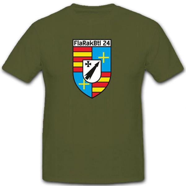 FlaRakBtl 24 Flugabwehr Raketen Bataillon Militär Bundeswehr - T Shirt #10441