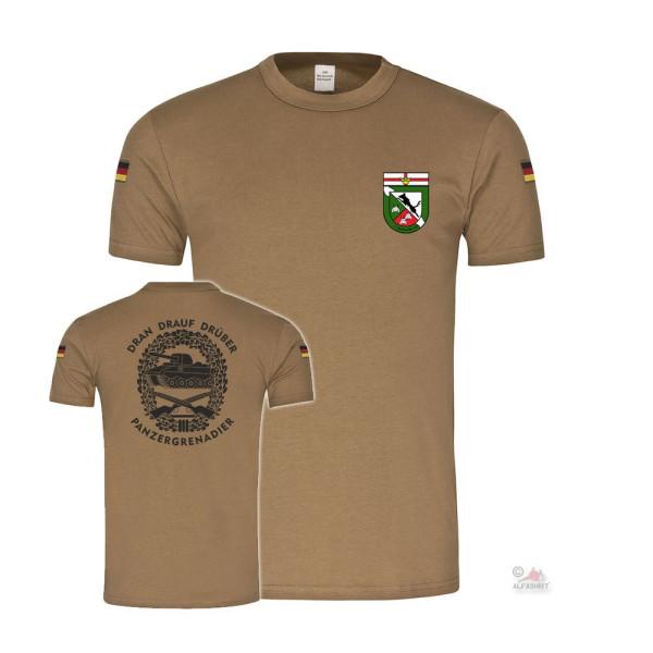 BW Tropical 5 Company PzGrenBtl 342 Panzergrenadier Dran Drauf T-Shirt # 36520