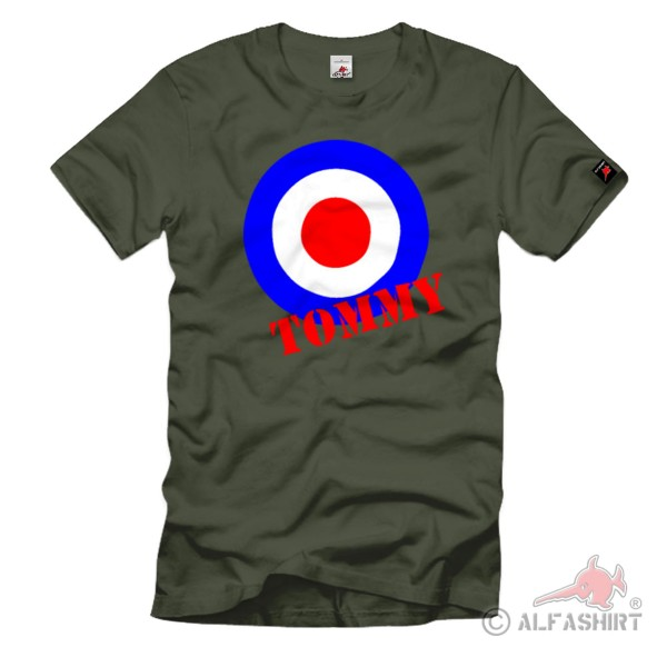 Tommy England British Soldier Soldier UK Great Britain T-Shirt # 1139