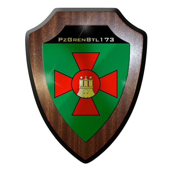 Wappenschild - PzGrenBtl 173 Panzergrenadierbataillon Panzer Bataillon #8867