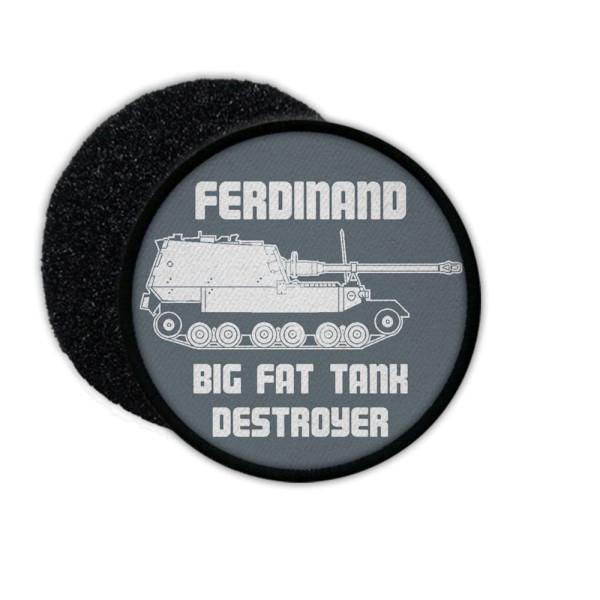 Patch Ferdinand Tank BIG FAT DESTROYER WOT tank elephant patch # 33626