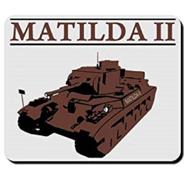Matilda II Mark II Infanterie Royal Army Tank England British - Mauspad #3023