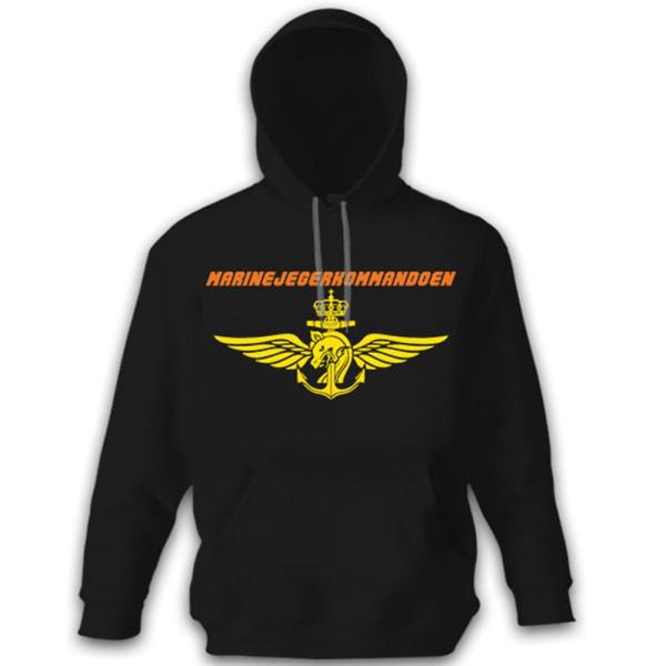 Marine Jegerkommandoen Marine Hunter Command Navy - Pullover Hoodie # 12056