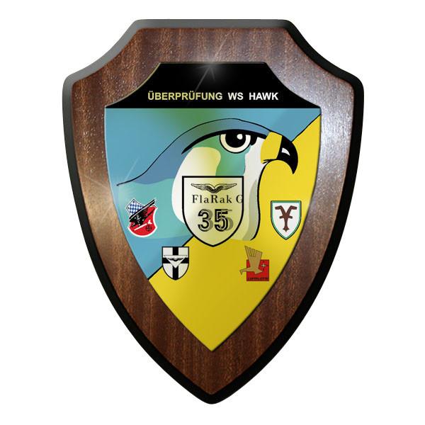 Wappenschild / Wandschild - Überprüfung WS Hawk Luftwaffe Bundeswehr #11883
