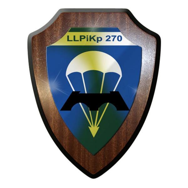 Wappenschild / Wandschild / Wappen - Luftlandepionierkompanie LLPiKp 270 Bw#8365