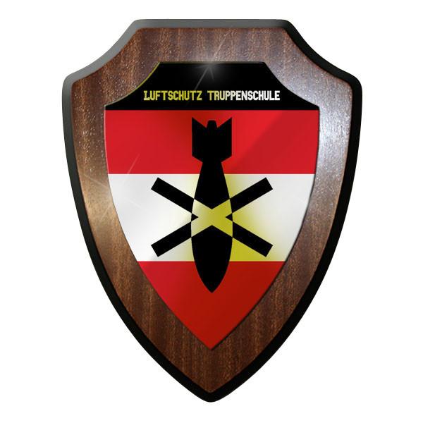 Wappenschild / Wandschild / Wappen - Luftschutz Truppenschule Österreich #10081