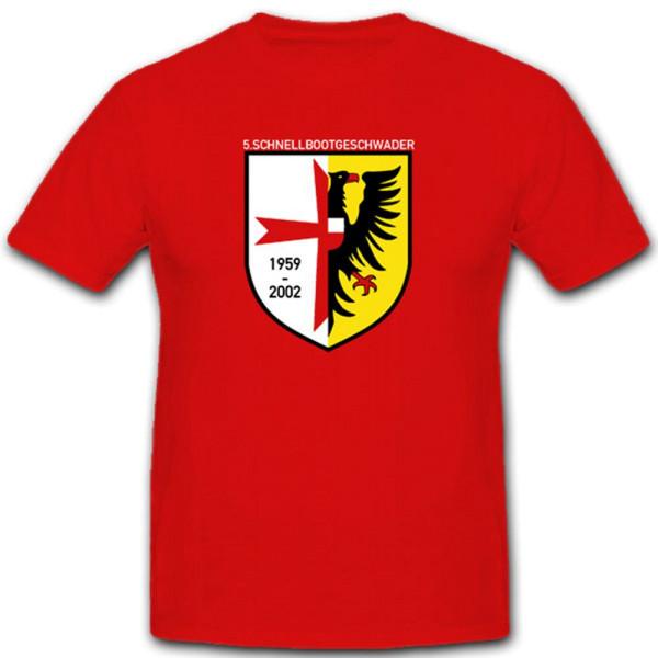 Schnellbootgeschwader Marine Bundeswehr Militär Einheit Wappen T Shirt #1936