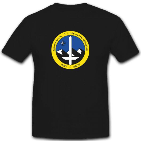 Wappen Kommando Deutsche Bundeswehr Nato Kfor 1.Kp- T Shirt #3922