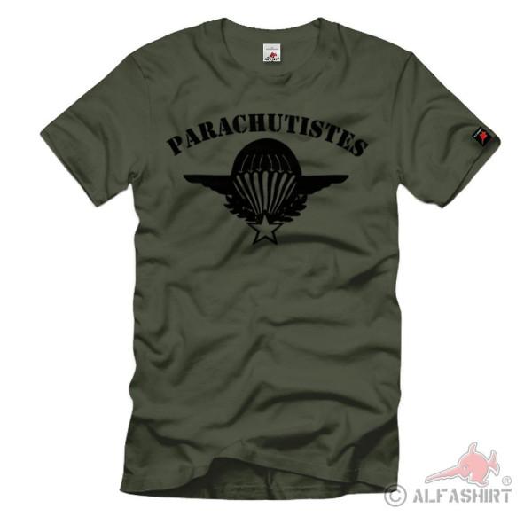 Fallschirmjäger Regiment 1e Régiment Étranger Parachutistes - T Shirt #1194
