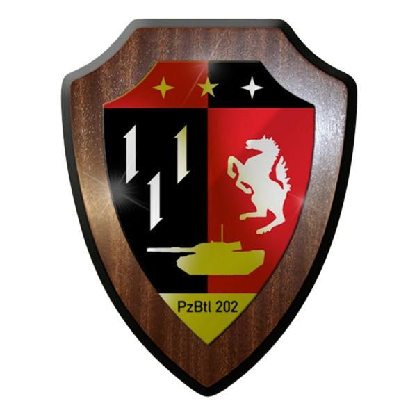Wappenschild - PzBtl 202 Panzerbataillon Panzer Bataillon 202 Hemer #12312