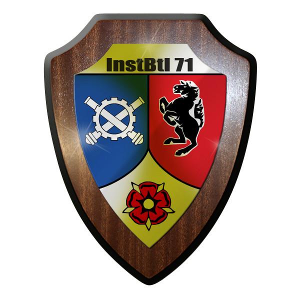 Wappenschild - InstBtl 71 Instandsetzungsbataillon Instandsetzung Bw #9270