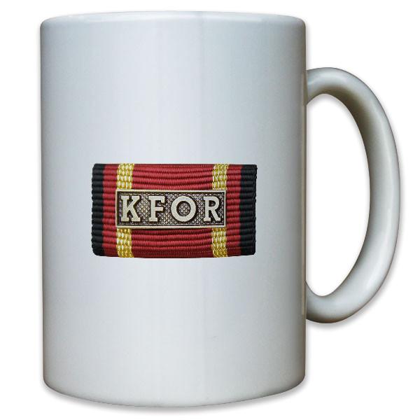 Ordensspange KFOR Kosovo Forces Bosnien Jugoslavien Bundeswehr - Tasse #10980