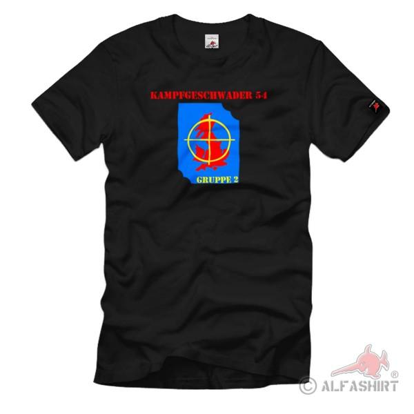 Kampfgeschwader 54 Gruppe 2 Wappen Luftwaffe Abrieglung - T Shirt #1062