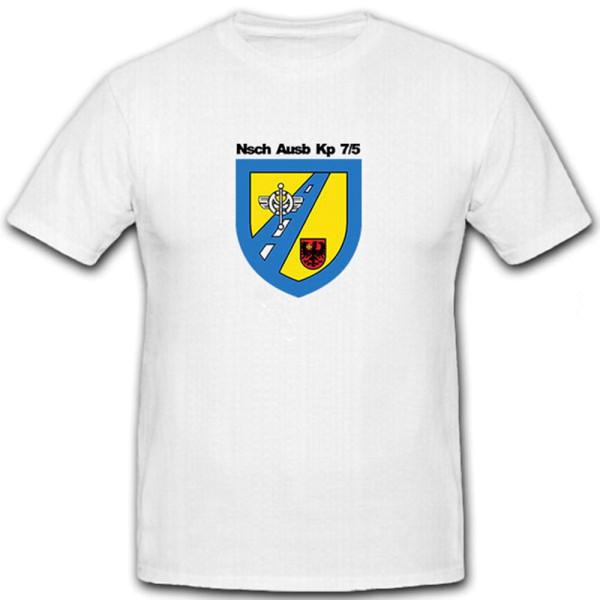 NschAusbKp 7/5 Nachschub Bundeswehr Einheit Wappen- T Shirt #6590