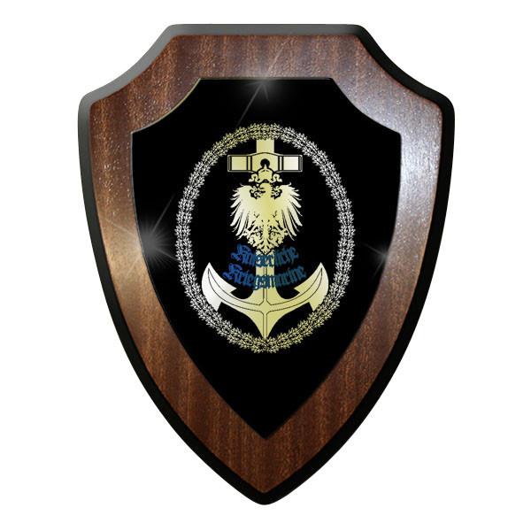 Wappenschild / Wandschild / Wappen - Deutsche Kaiserliche Marine Anker #11699