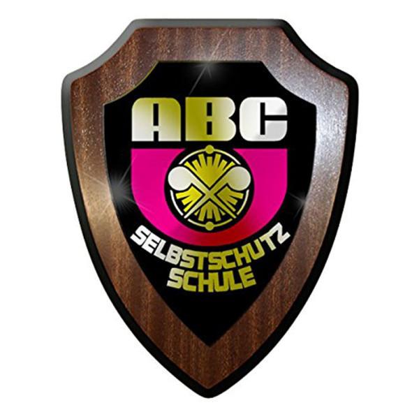 Wappenschild ABC Selbstschutzschule Truppenschule Soldaten Militär #8389