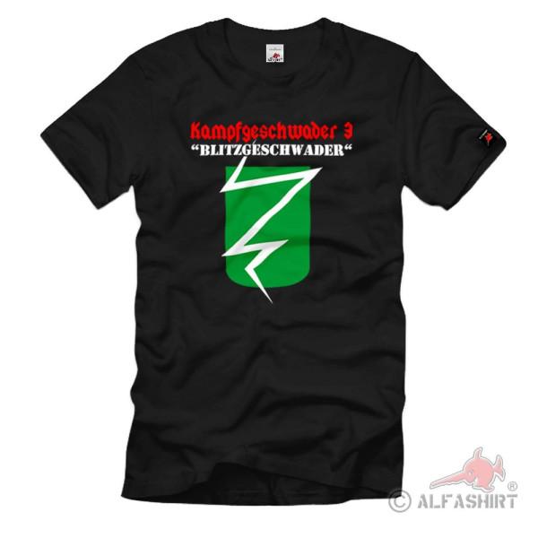Blitzgeschwader KG 3 Kampfgeschwader Luftwaffe Flight Support - T Shirt # 1069