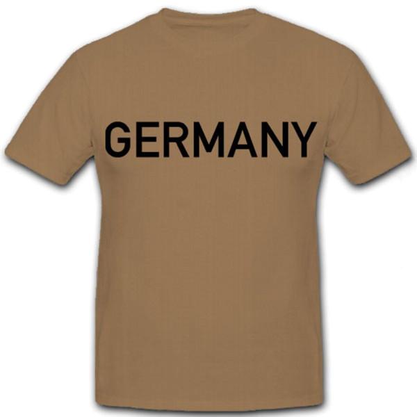 Germany BRD T Shirt Bundesrepublik Militär Hemd - T Shirt #7009