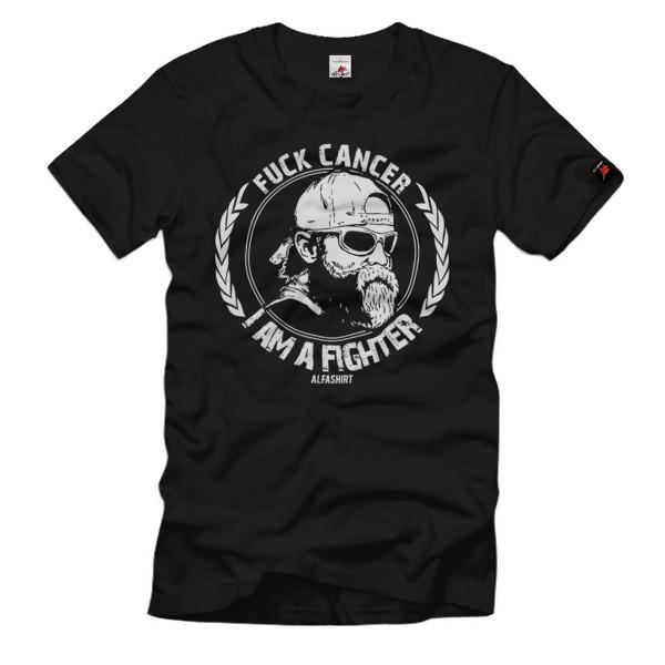 Fuck Cancer Krebs Knochmark Spender typisierung ehrenamt Deutsch T-Shirt#33592