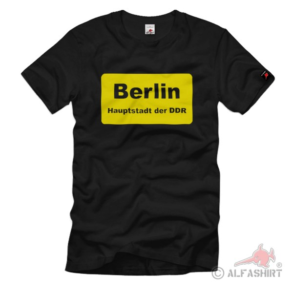 Berlin DDR Berlin Hauptstadt BRD Kapitol Metropole - T Shirt #2004