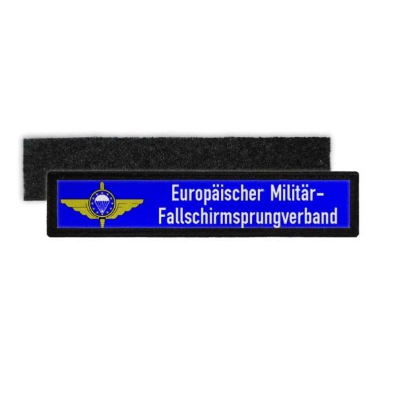 Namensschild Patch EMFV Europäischer Militär- Fallschirmsprungverband #24831
