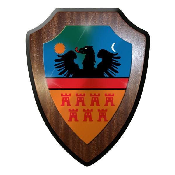 Wappenschild / Wandschild - Siebenbürgen Transsilvanien Karpaten Rumänien #9250