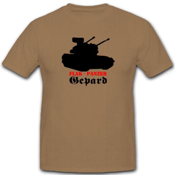 Flak Panzer Gepard Bundeswehr Flug Abwehr FlaK Panzer - T Shirt #7171