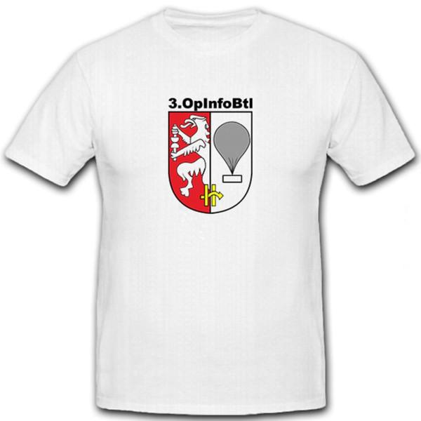 3 OpInfoBtl - T Shirt #5780