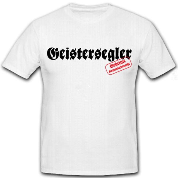 Geistersegler-Seesoldaten Agentensegler Schiffe Abwehr - T Shirt #12294