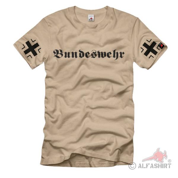 Bundeswehr with BK sleeve print BW German Army Military Unit T-Shirt # 1167