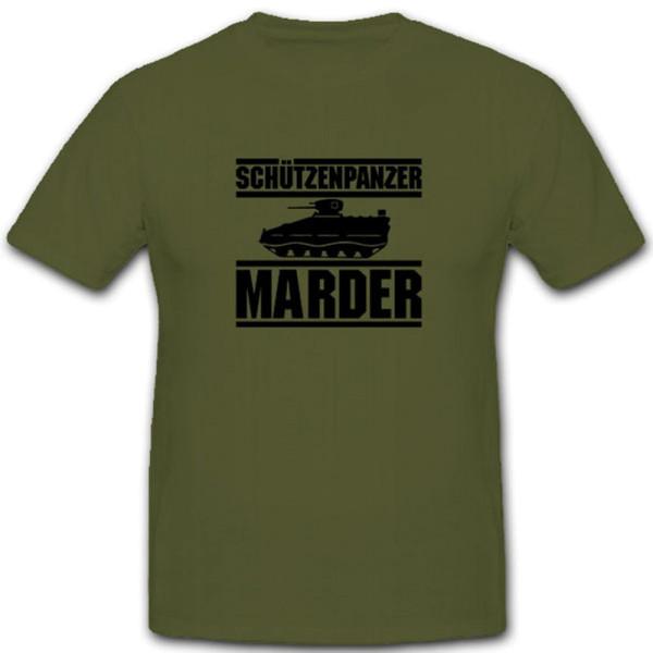PzSchützenpanzer Marder Spzmarder Bundeswehr Fahrzeug - T Shirt #4153